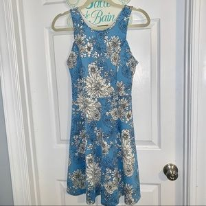 Soprano Blue Floral Dress